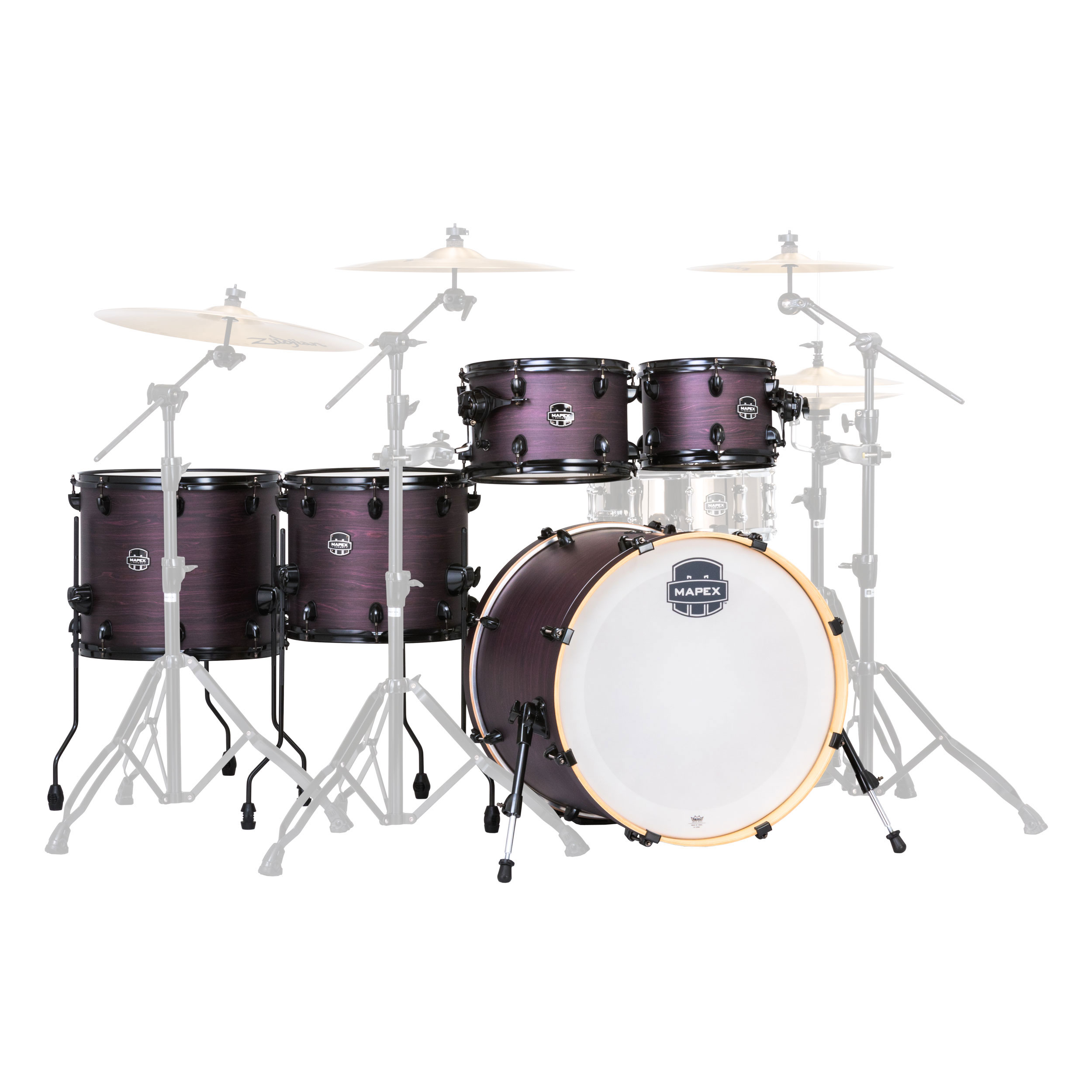 "Mapex Armory 6-Piece Studioease Drum Set Shell Pack (22"" Bass, 10/12/14/16"" Toms, 14"" Snare)"