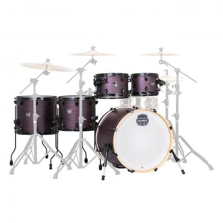 Mapex Armory 6-Piece Studioease Drum Set Shell Pack (22