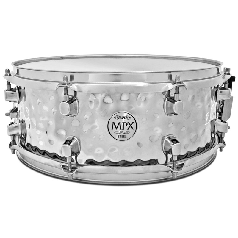 "Mapex 14"" x 5.5"" MPX Steel Hammered Snare Drum"