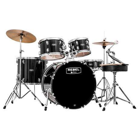 Mapex Rebel 5-Piece Drum Set (22
