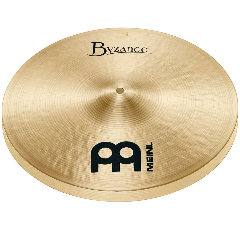 "Meinl 14"" Byzance Traditional Medium Hi Hat Cymbals"