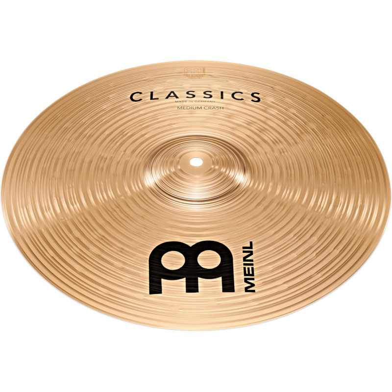 "Meinl 18"" Classic Medium Crash Cymbal"