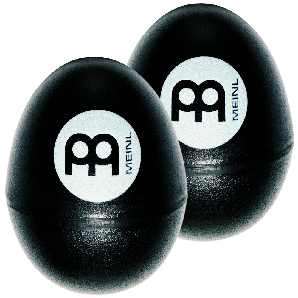Meinl Pair of Black Egg Shakers