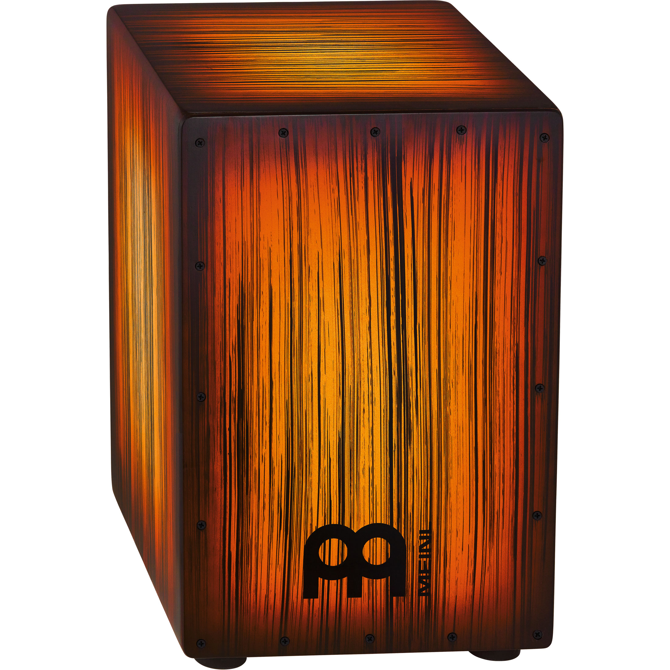 Meinl Headliner Designer Series String Cajon in Amber Tiger Stripe