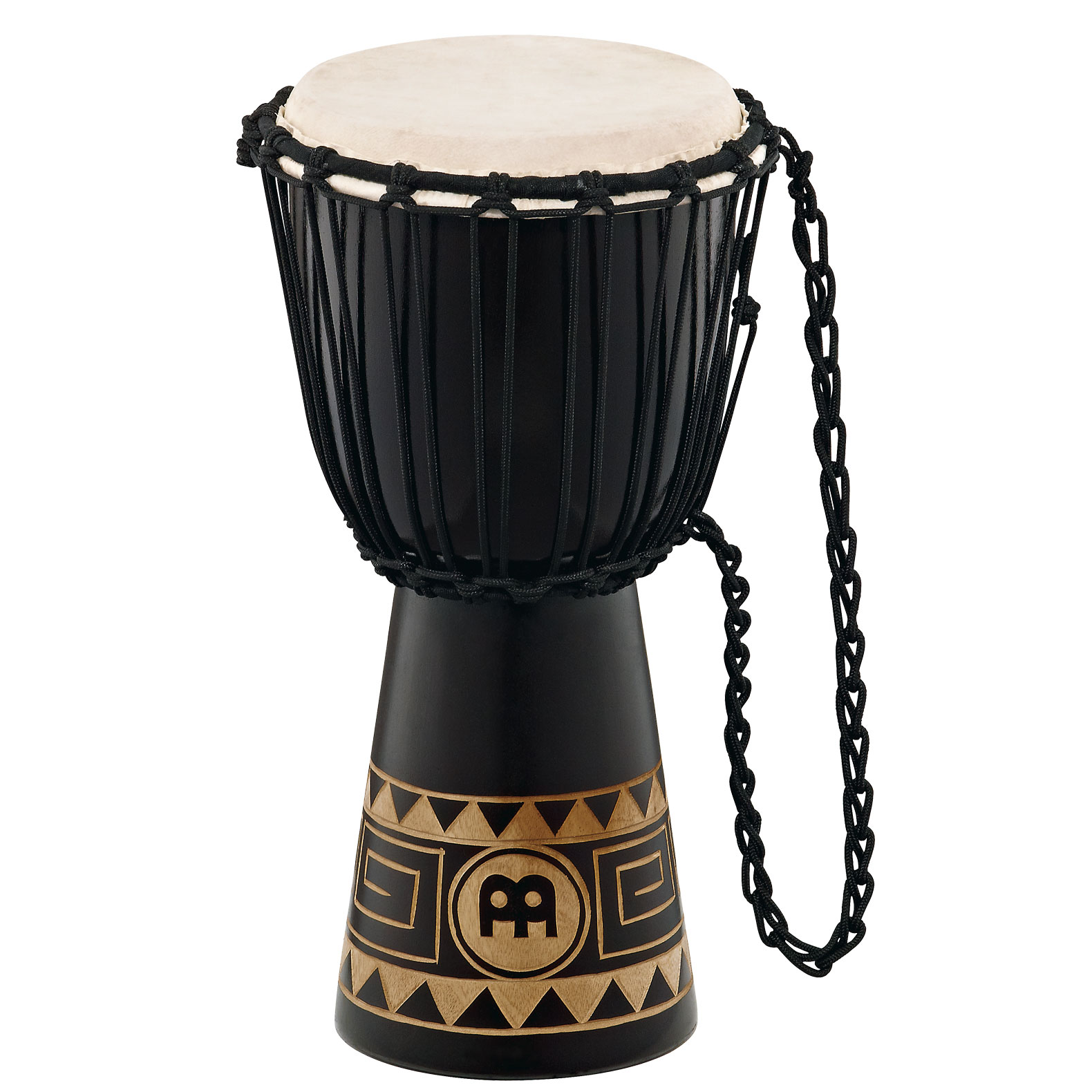 "Meinl 8"" Headliner Series Rope-Tuned Djembe with Congo Design"