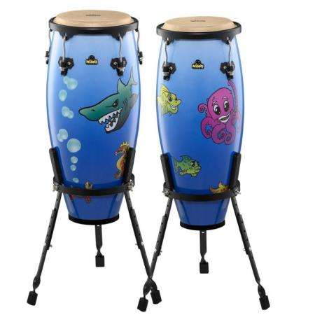 Meinl Nino Designer Series Congas Deep Sea Finish