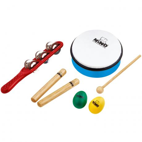 Meinl Nino Percussion Instrument Set 3