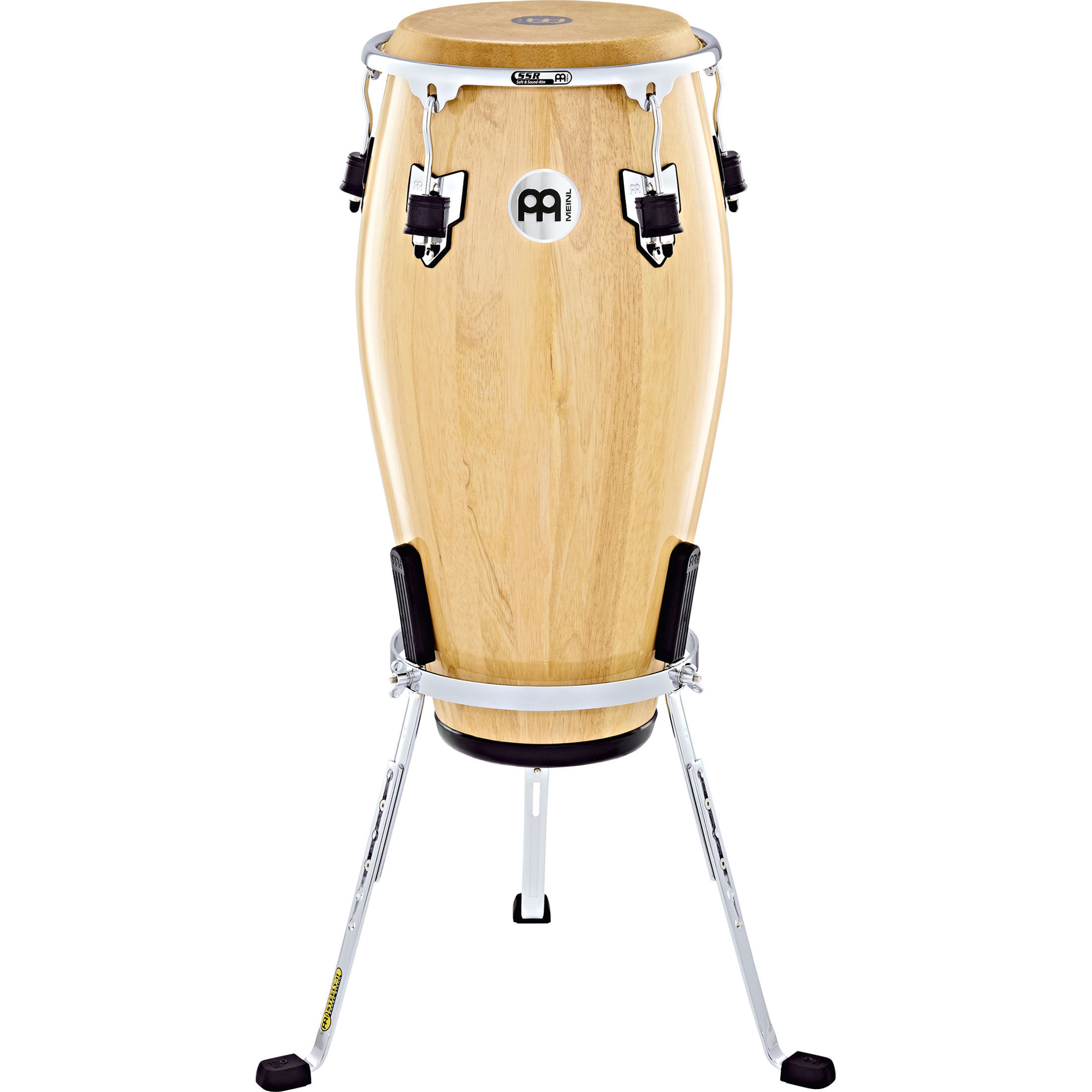 "Meinl 11"" Marathon Exclusive Steely II Quinto Conga Stand in Chrome"