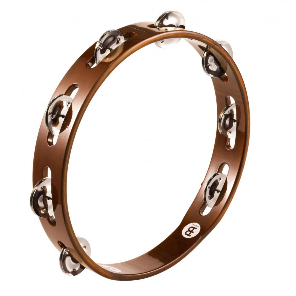 Meinl Wood Single Row Steel Tambourine