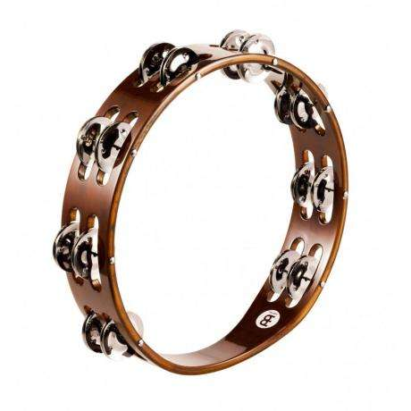 Meinl Wood Double Row Steel Tambourine