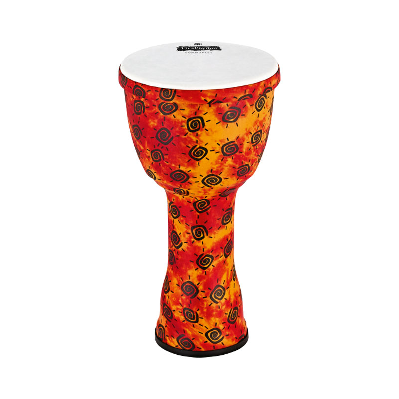 "Meinl VivaRhythm 10"" Boom Series Djembe with Pre-Tuned Synthetic Head"