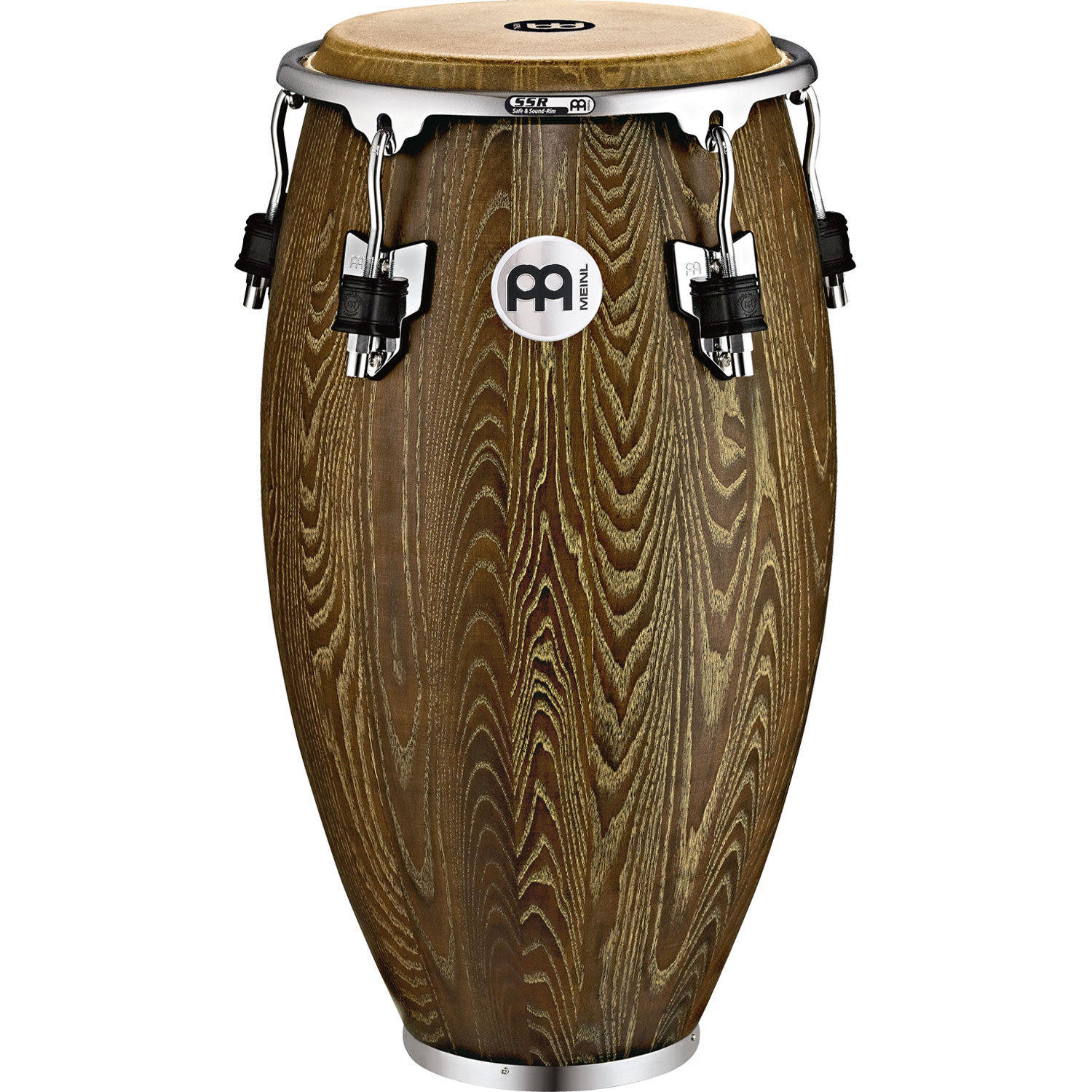 "Meinl 11"" Woodcraft Series Quinto Conga in Vintage Brown"