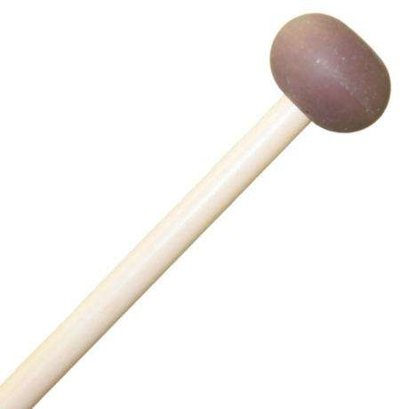 Mike Balter Unwound Medium Soft Rubber Xylophone Mallets with Birch Handles