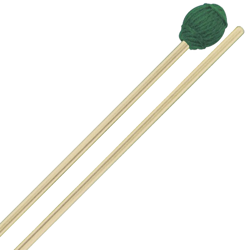 Mike Balter Ensemble Series Medium Hard Marimba Mallets with Birch Handles