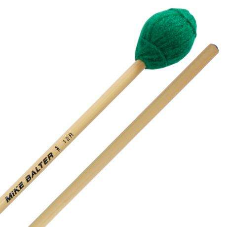 Mike Balter Ensemble Series Medium Hard Marimba Mallets with Rattan Handles