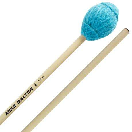Mike Balter Ensemble Series Medium Soft Marimba Mallets with Rattan Handles