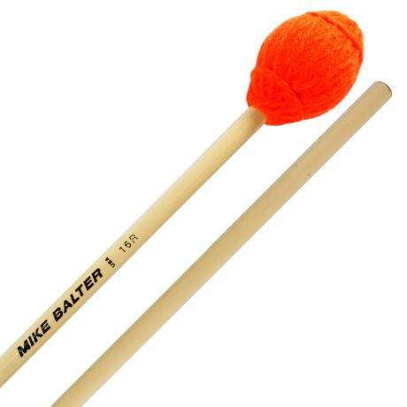 Mike Balter Ensemble Series Very Soft Marimba Mallets with Rattan Handles