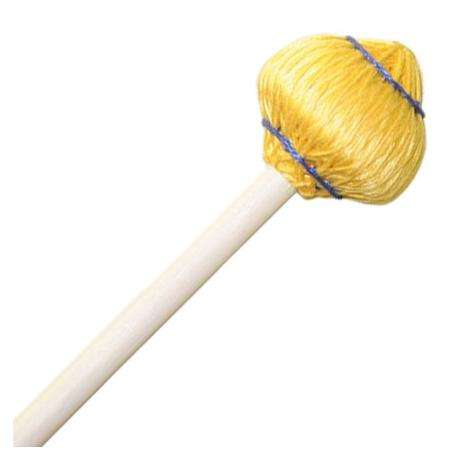 Mike Balter Mushroom Head Medium Soft Vibraphone Mallets with Rattan Handles