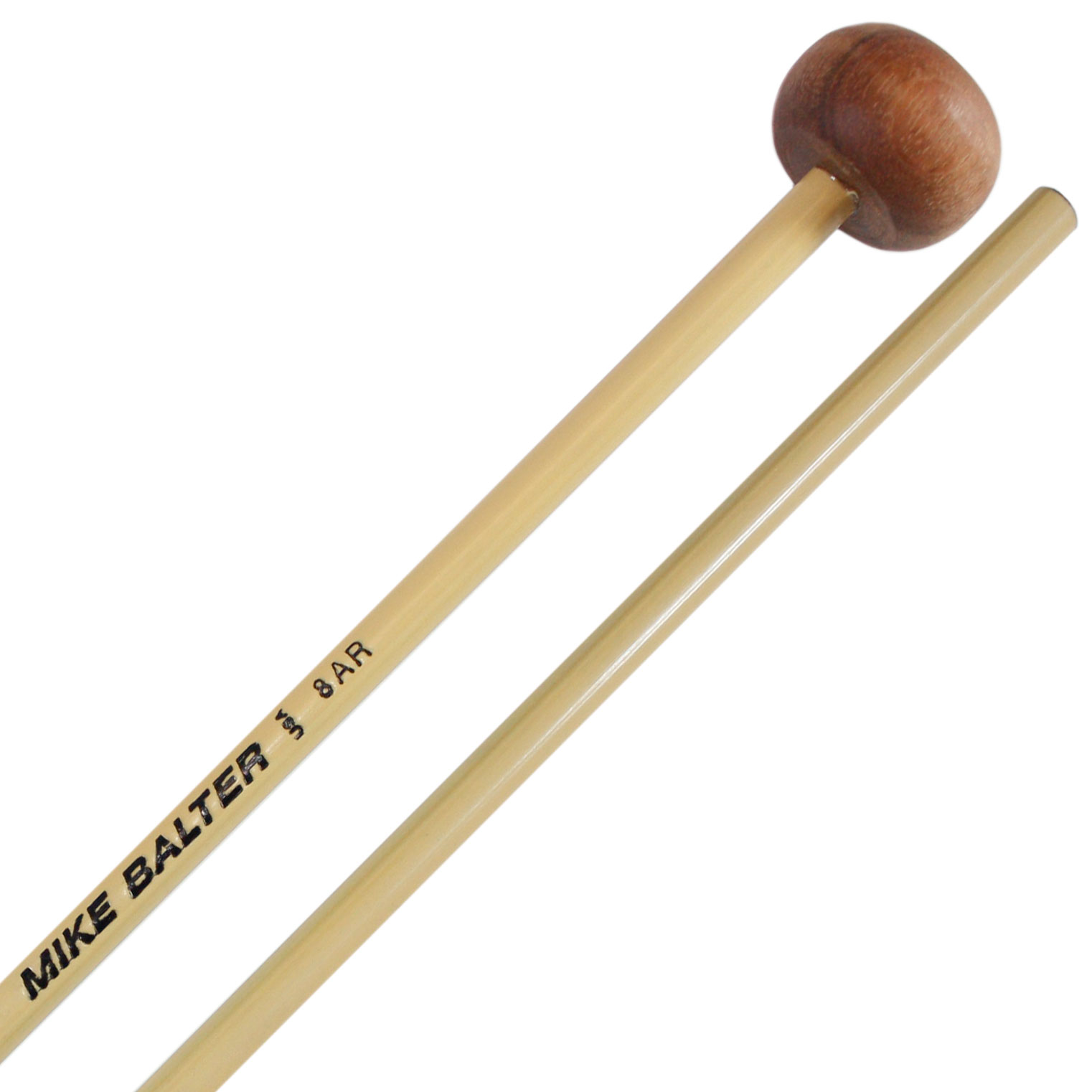 Mike Balter Unwound Large Rosewood Xylophone Mallets with Rattan Handles