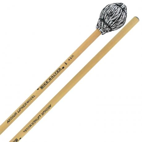 Mike Balter Arthur Lipner Signature Medium Hard Vibraphone Mallets with Rattan Handles