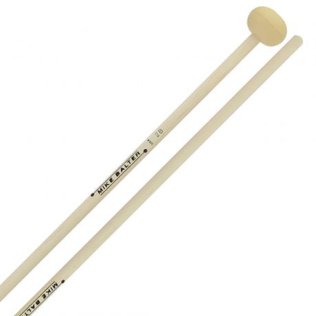 Mike Balter Unwound Soft Rubber Xylophone Mallets with Birch Handles