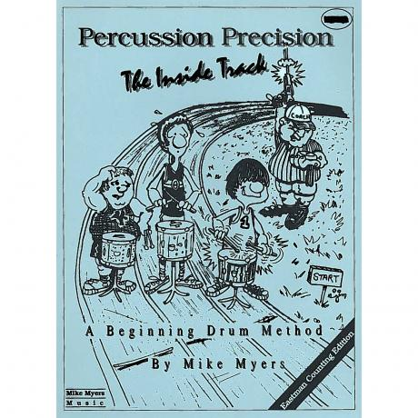 Percussion Precision: The Inside Track by Mike Myers (Eastman Counting)