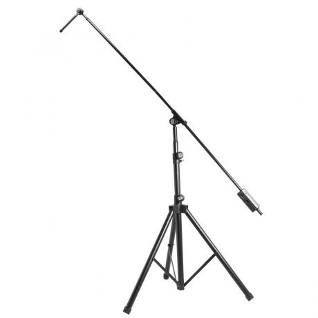 On Stage Tripod Studio Boom Microphone Stand with 7