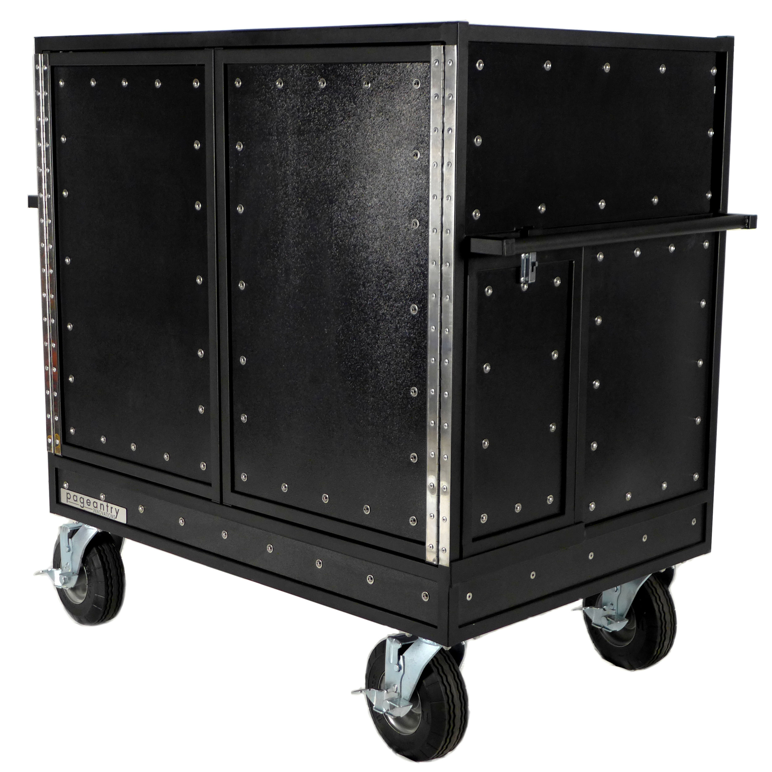 Pageantry Innovations MC-20 Standard Double Mixer Cart