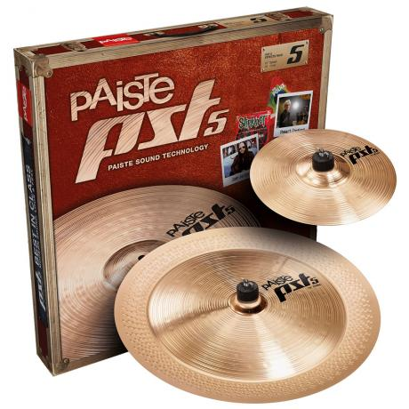Paiste PST 5 Effects 2-Piece Cymbal Box Set (Splash, China)