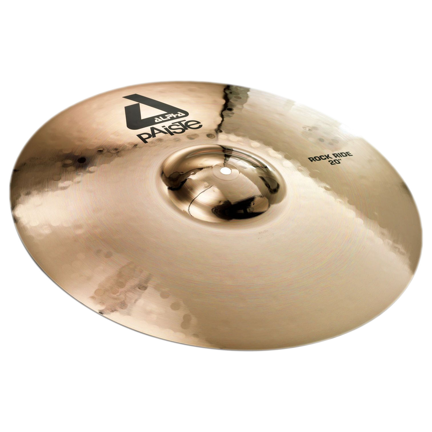 "Paiste 20"" Alpha Rock Ride Cymbal with Brilliant Finish"