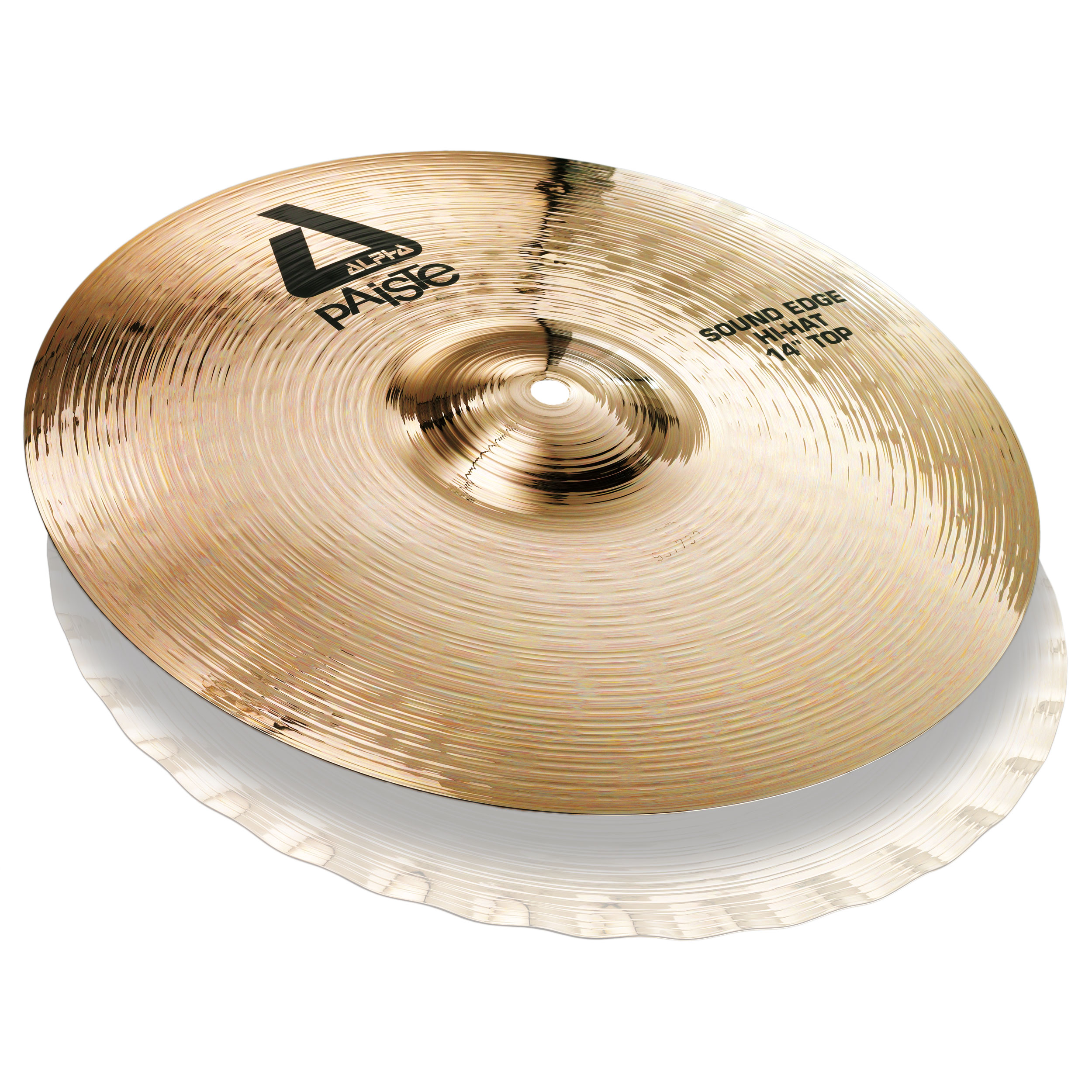 "Paiste 14"" Alpha B Sound Edge Hi Hat Top Cymbal"