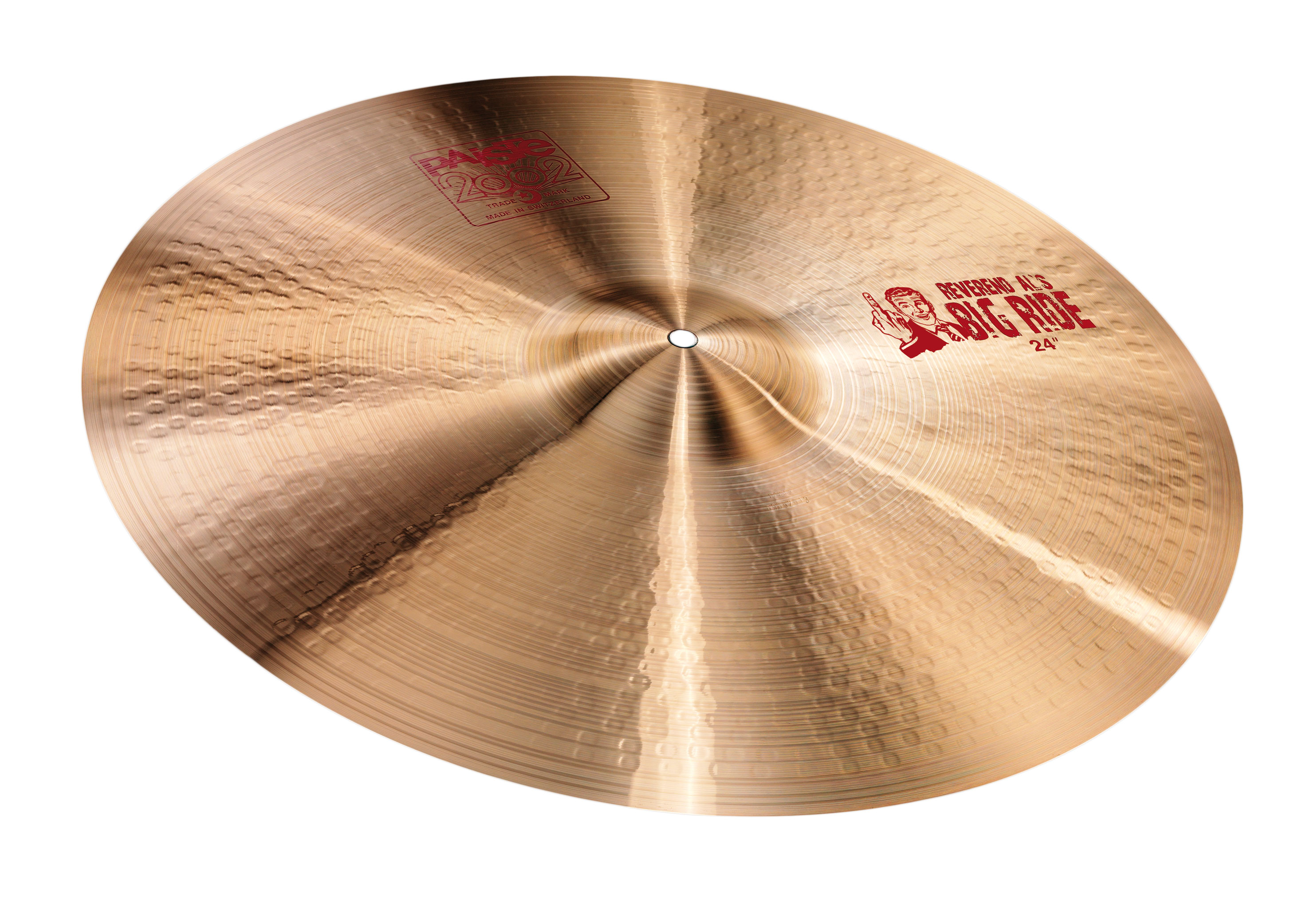 "Paiste 24"" 2002 Series Big Ride Cymbal"