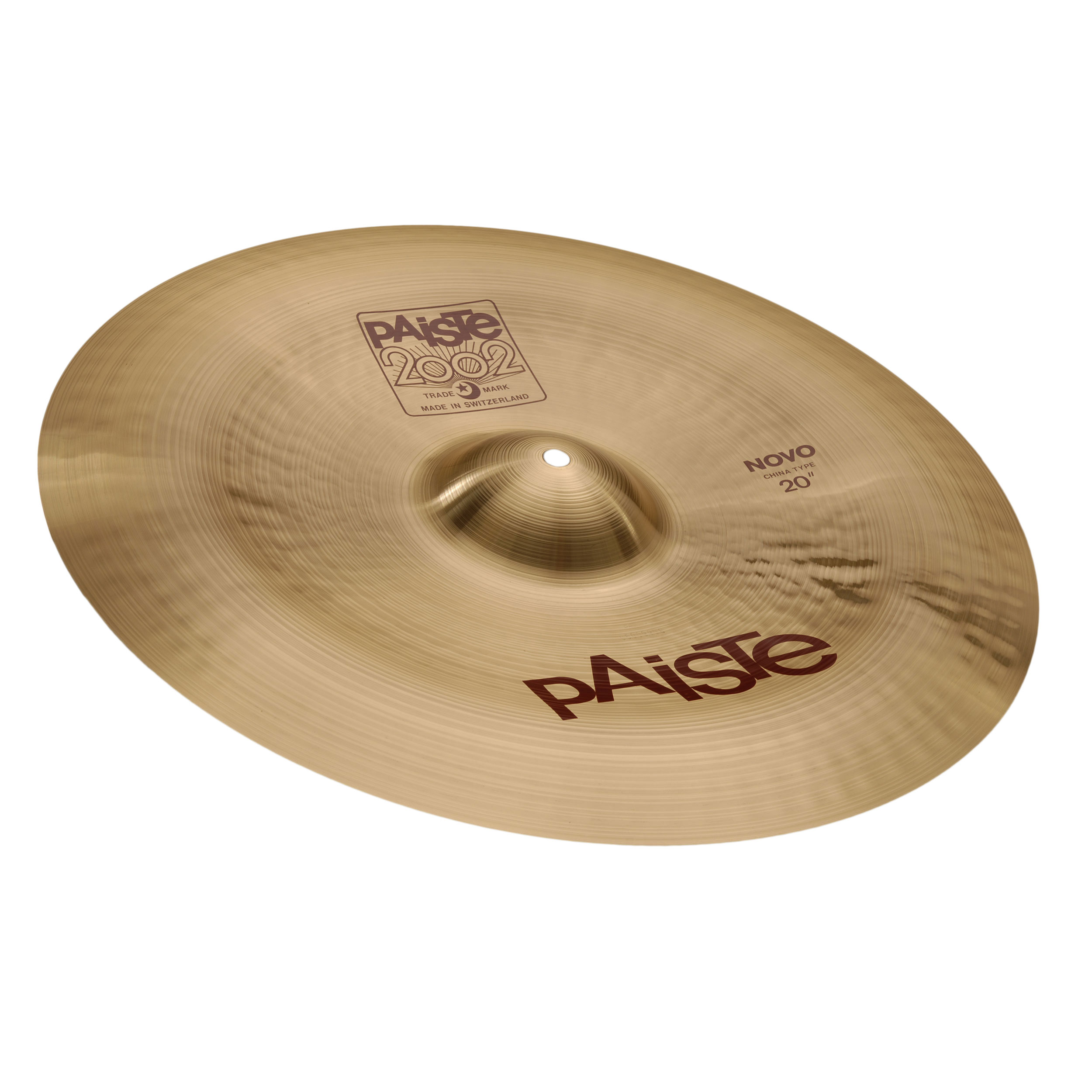 "Paiste 20"" 2002 Novo China Cymbal"