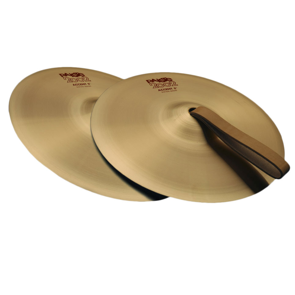 "Paiste 6"" 2002 Series Accent Cymbal Pair"