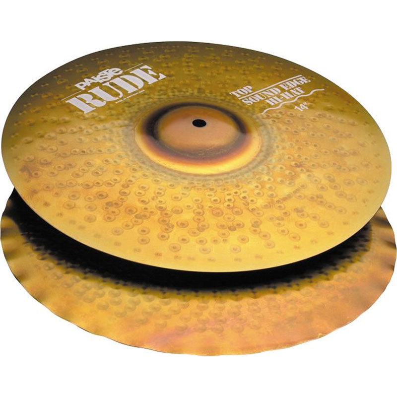 "Paiste 14"" Rude Sound Edge Hi Hat Cymbals"