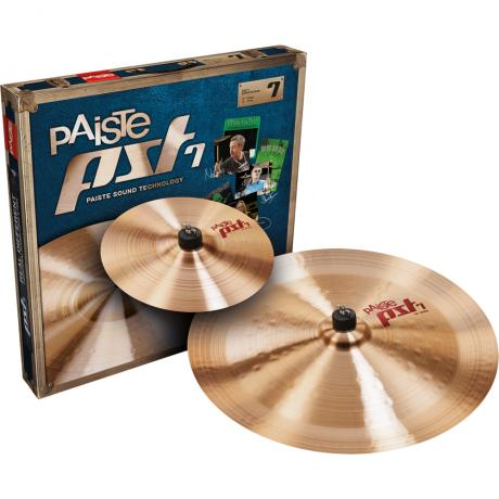 Paiste PST 7 Effects 2-Piece Cymbal Box Set (Splash, China)