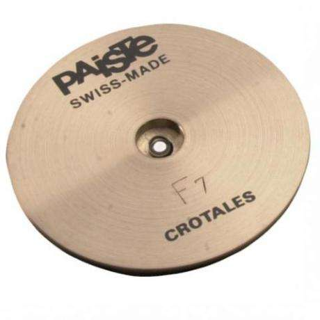 Paiste F7 Single Crotale Note