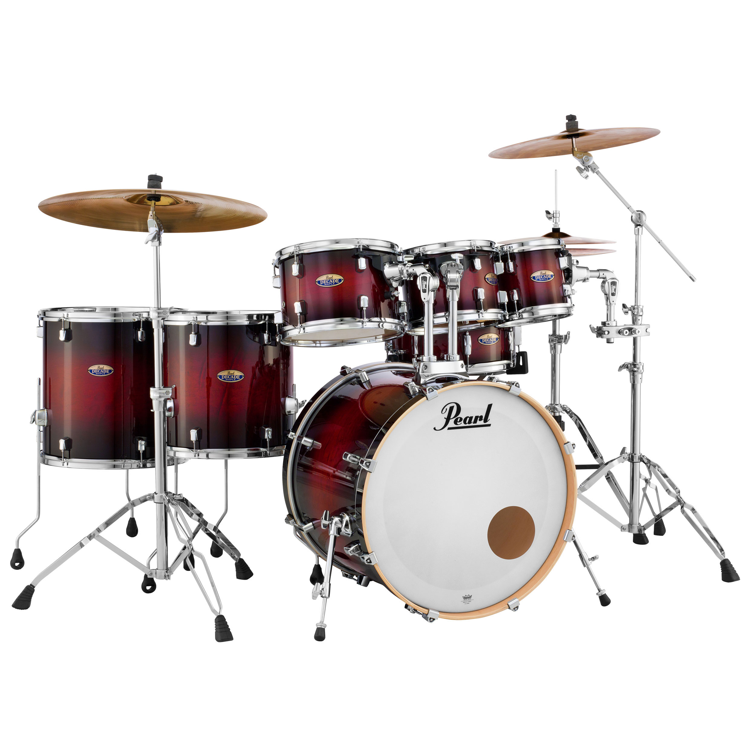 "Pearl Decade Maple 7-Piece Drum Set Shell Pack (22"" Bass ..."