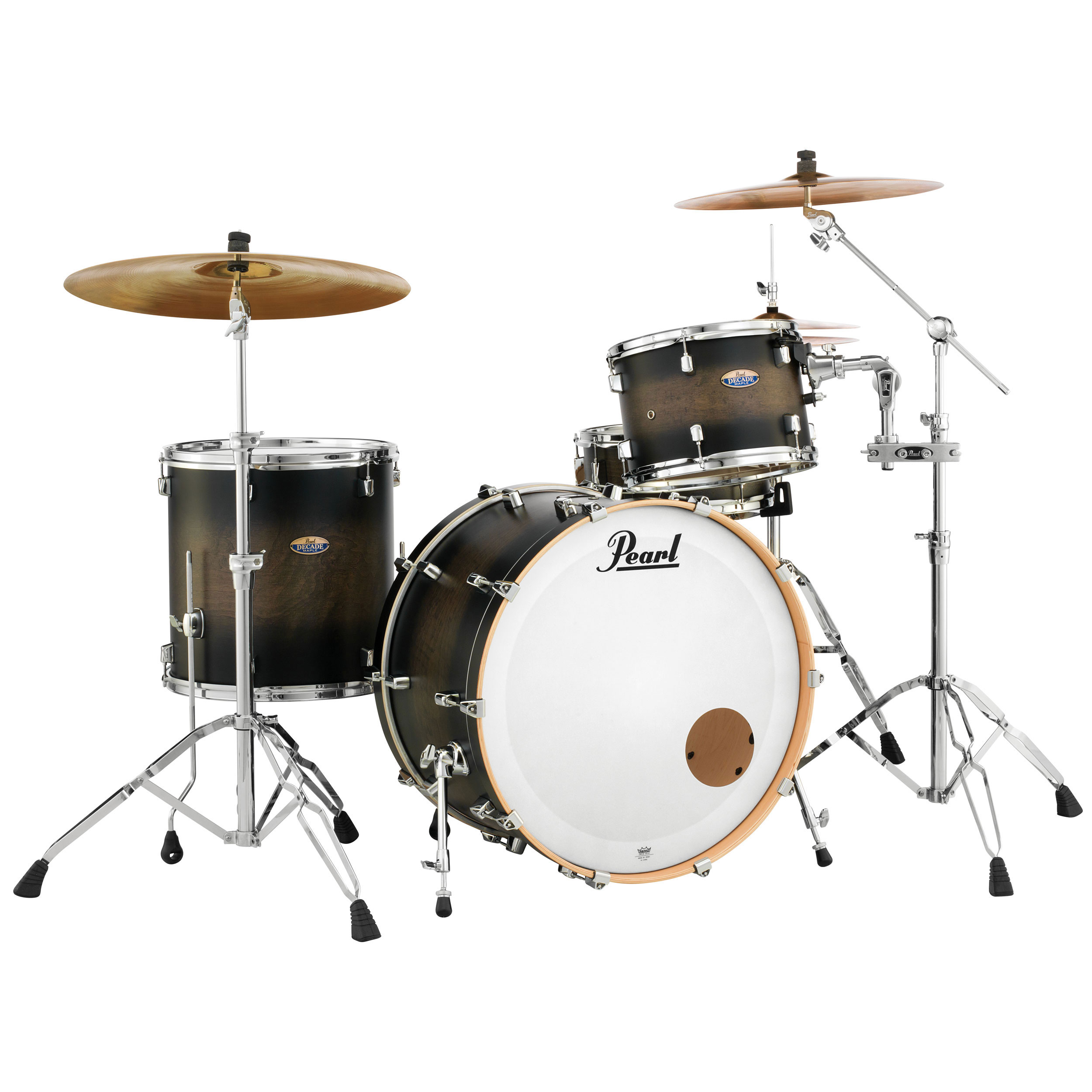 "Pearl Decade Maple 3-Piece Drum Set Shell Pack (24"" Bass, 13/16"" Toms) in Lacquer Finish"
