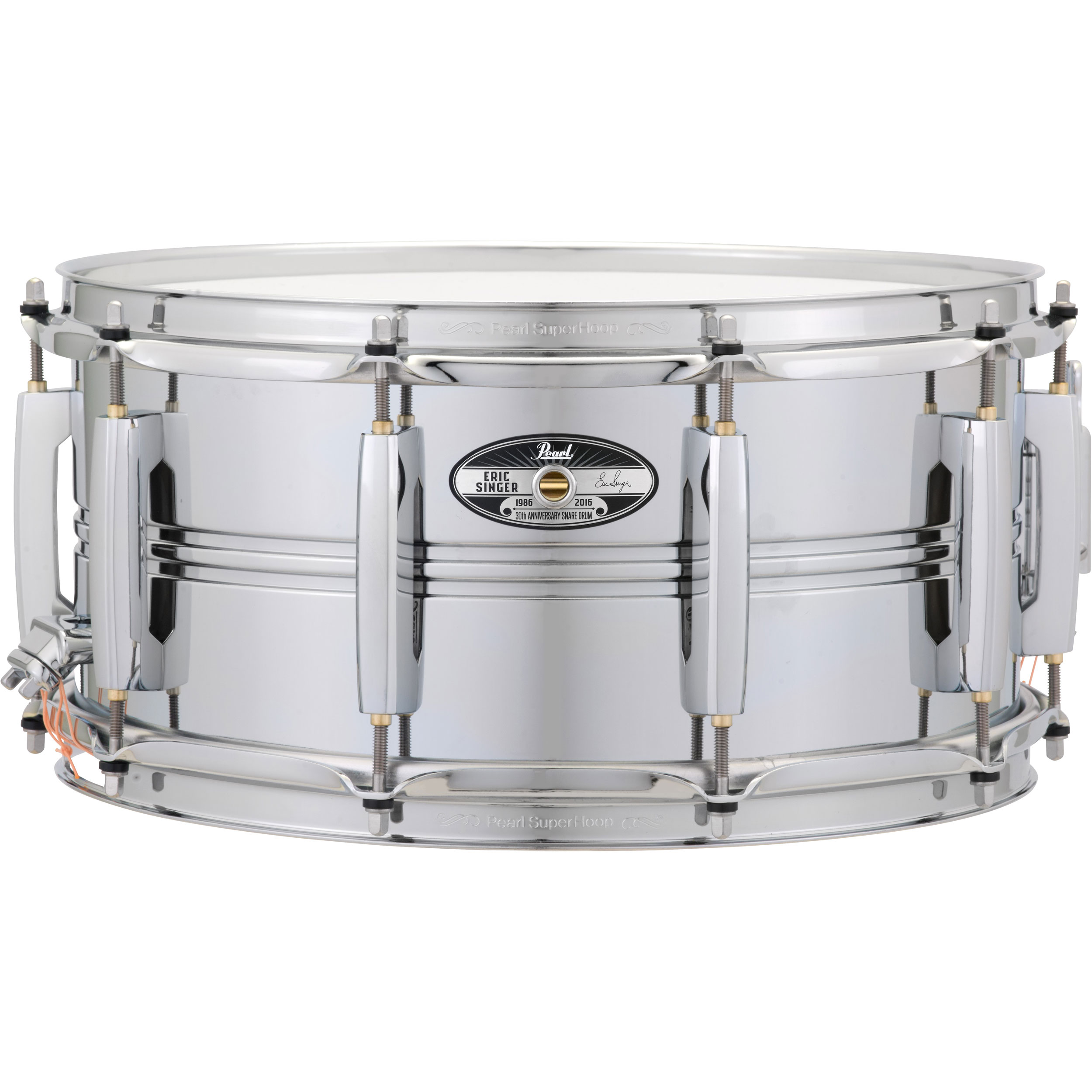 "Pearl Limited Edition 14"" x 6.5"" Eric Singer 30th Anniversary Snare Drum"