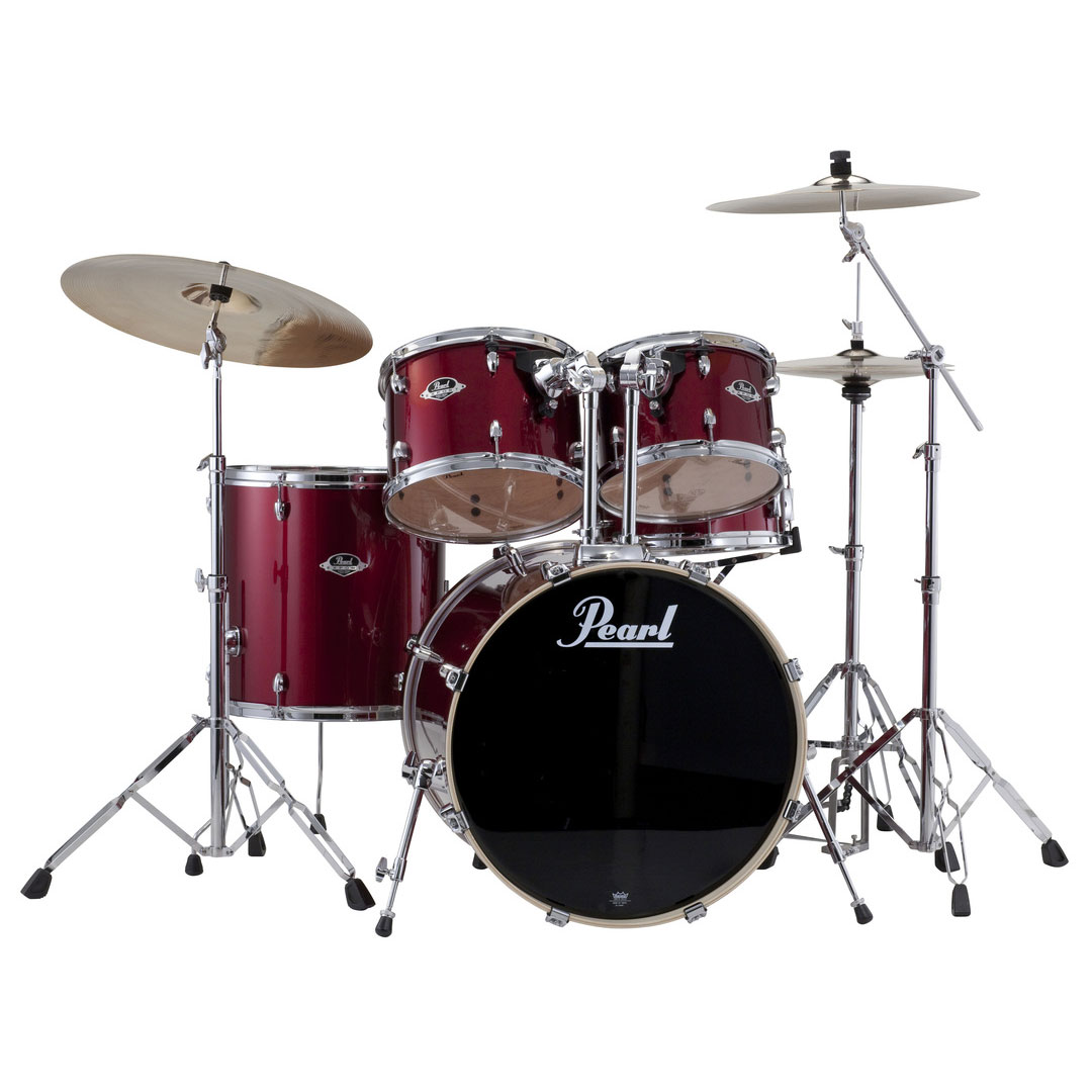 "Pearl EXX Export 5-Piece Drum Set with Hardware (22"" Bass ..."