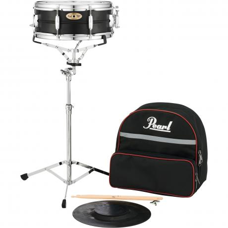 Pearl student snare kit with backpack style bag sk910 for Yamaha student bell kit with backpack and rolling cart