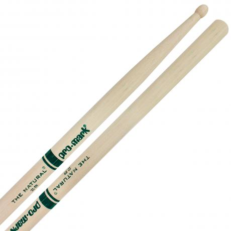 Promark American Hickory 2B Wood Tip Drumsticks