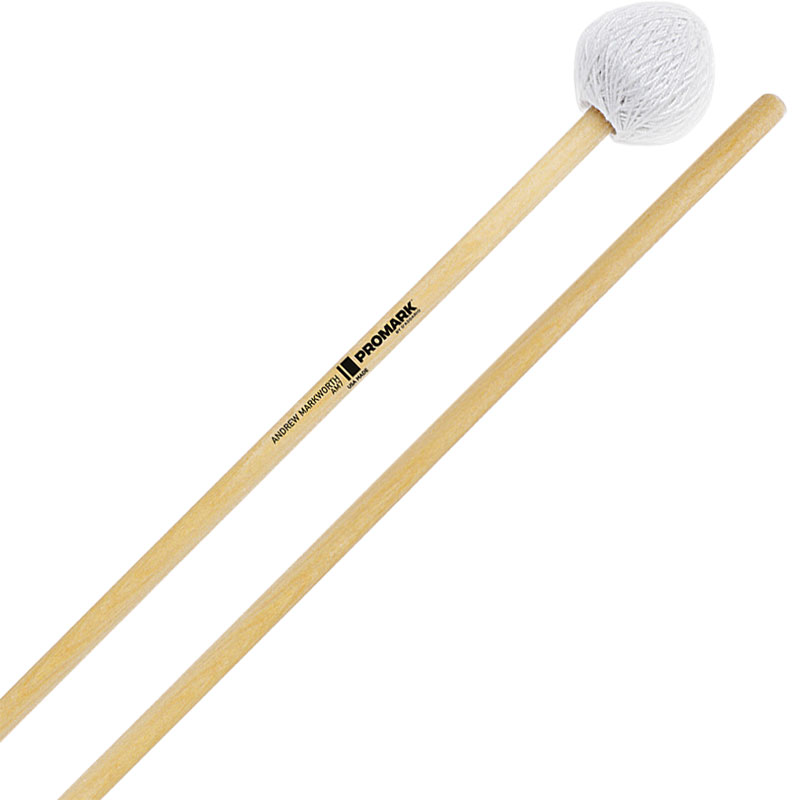 Promark Andrew Markworth Signature Hard Vibraphone Mallets with Birch Shafts
