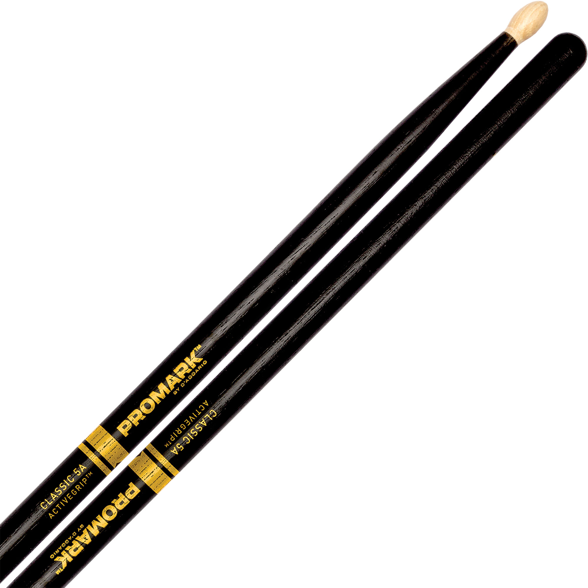 Promark Classic 5A ActiveGrip Hickory Drumsticks