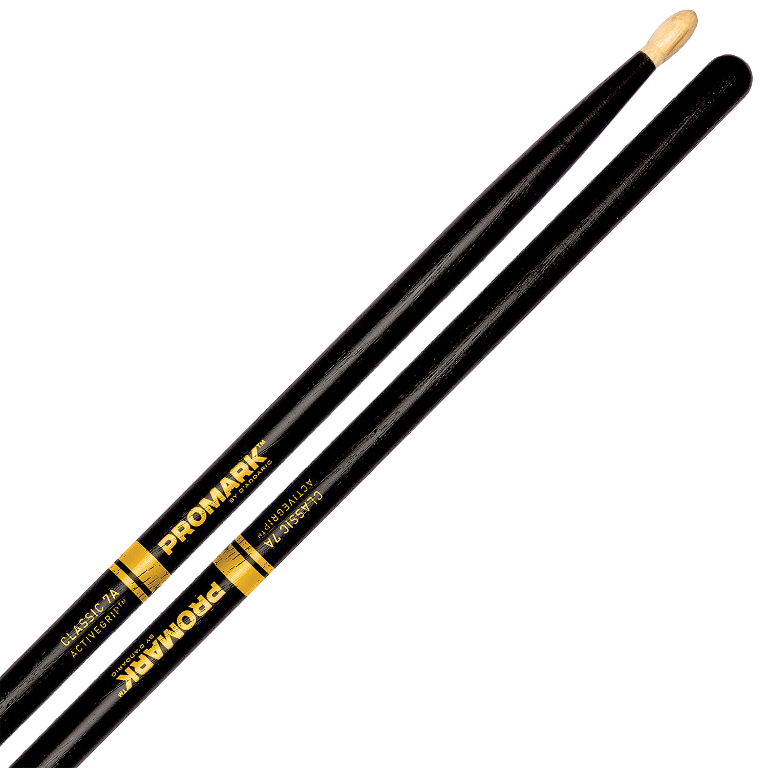 Promark Classic 7A ActiveGrip Hickory Drumsticks