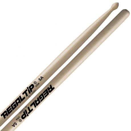 Regal Tip Classic Series Maple 5A Wood Tip Drumsticks
