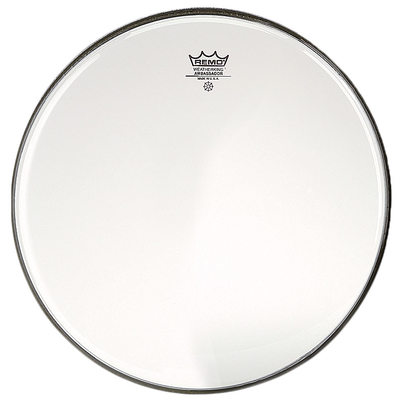 "Remo 12"" Ambassador Clear Drum Head"