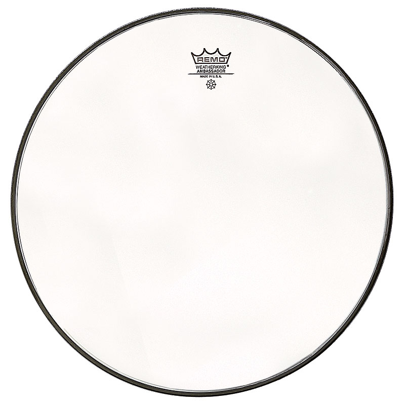 "Remo 13"" Ambassador Clear Drum Head"