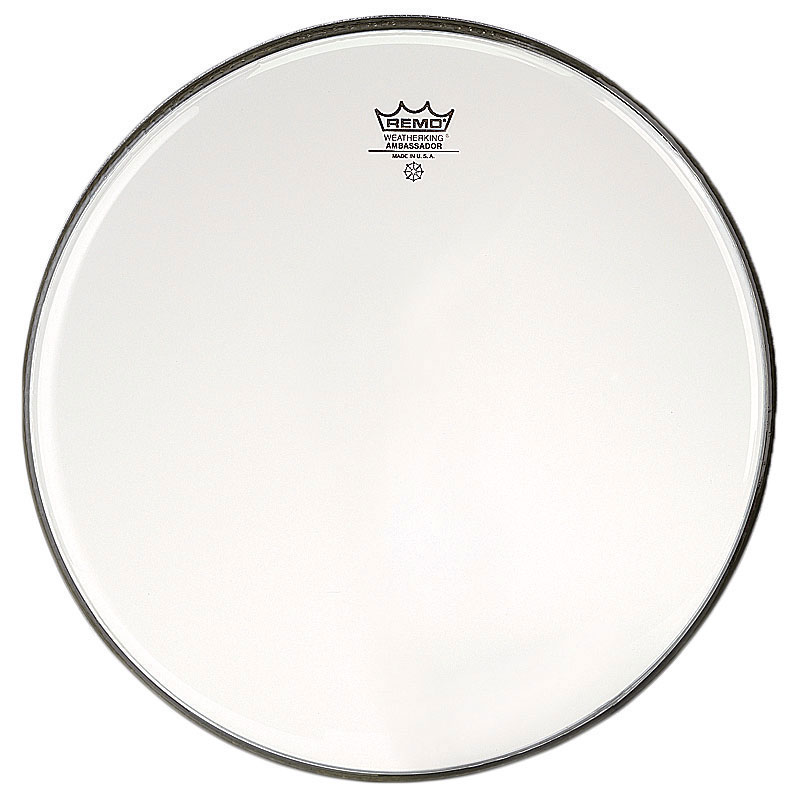 "Remo 18"" Ambassador Clear Drum Head"